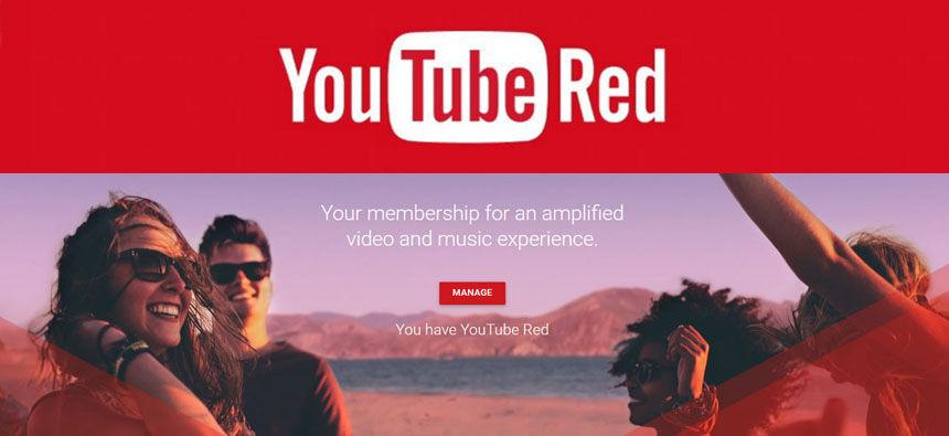 débloquer youtube red hors des Etats Unis - compte gratuit