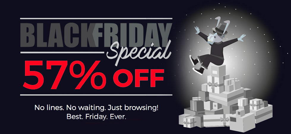 HMA VPN: Black Friday Special – 57% OFF!