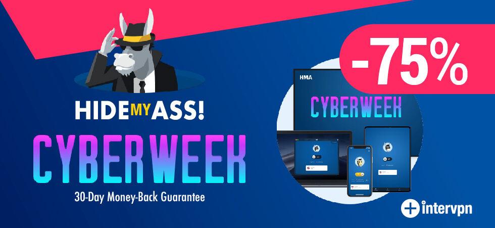 HMA VPN Black Friday & Cyber Monday
