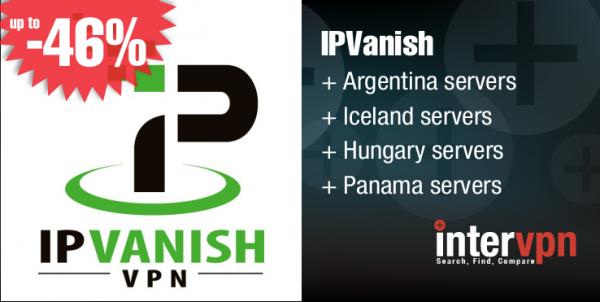 IPVanish Announces new Servers