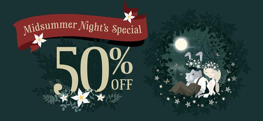 50% OFF Midsummer Special, HMA VPN Discount
