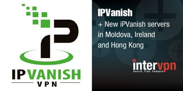 IPVanish new Servers