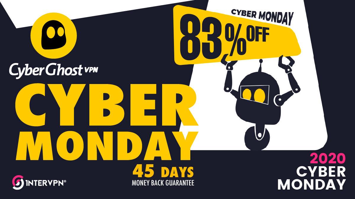 Cyber Monday at CyberGhost VPN