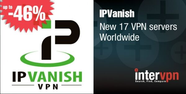 IPVanish Adds 17 VPN Servers Worldwide‏