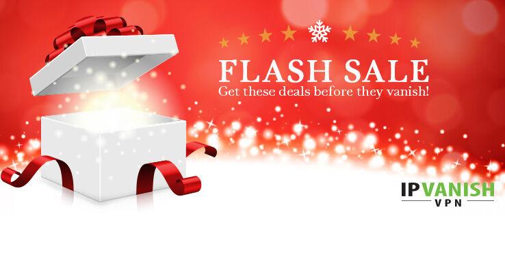 IPVanish Holiday Flash Sale