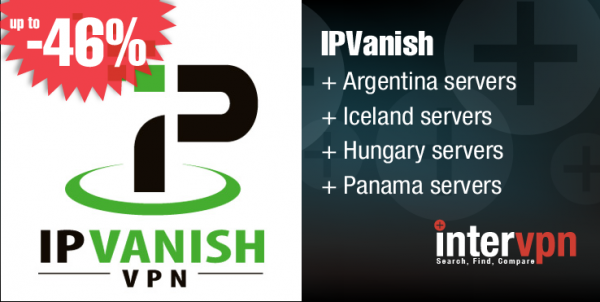 IPVanish Announces new Servers