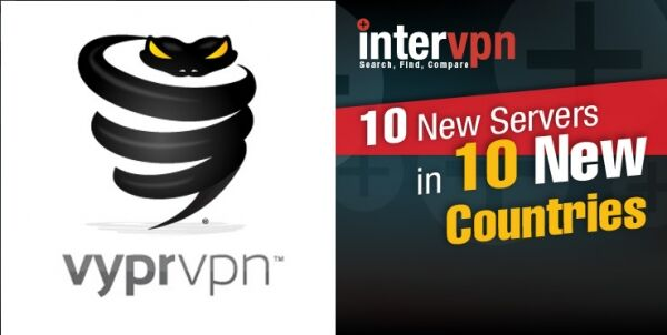 New VyprVPN Servers Cluster in 10 New Countries