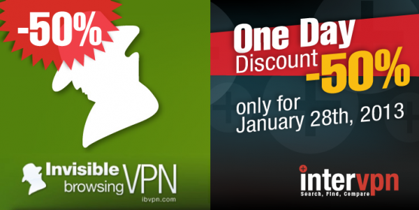 ibvpn Anniversary-The biggest discount of the year
