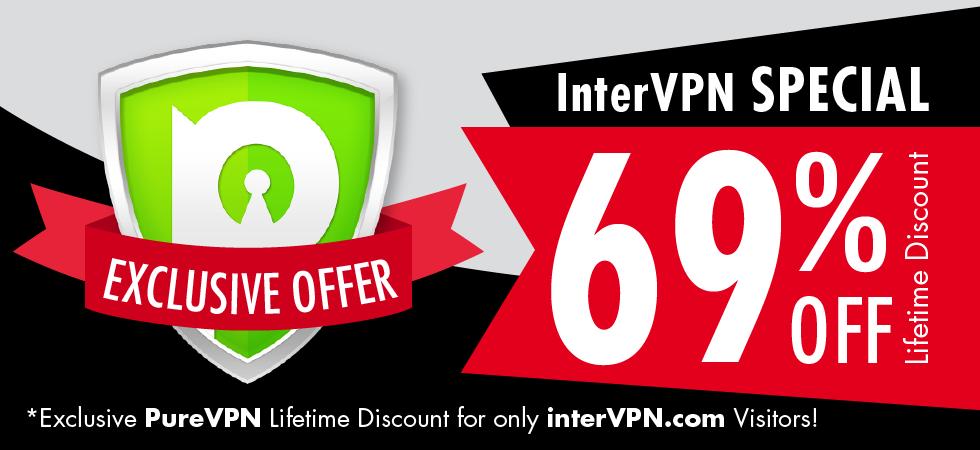PureVPN Exclusive 69% Lifetime Discount