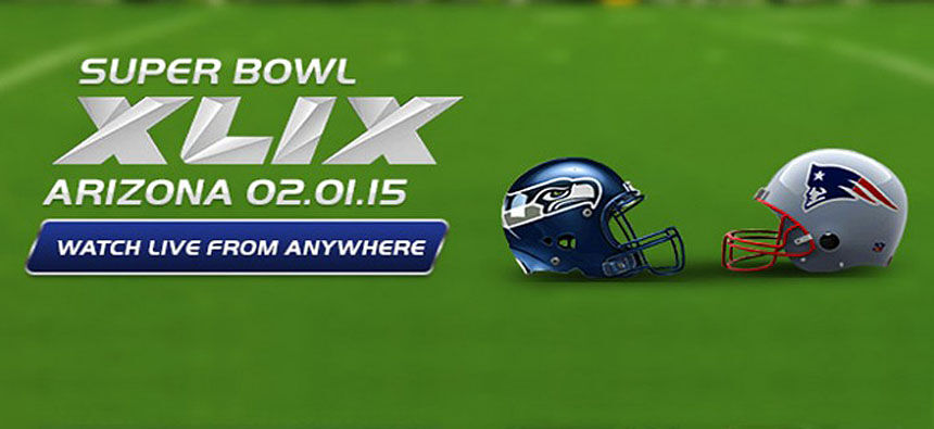 Watch The Super Bowl loive online