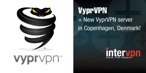 VyprVPN server cluster in Denmark