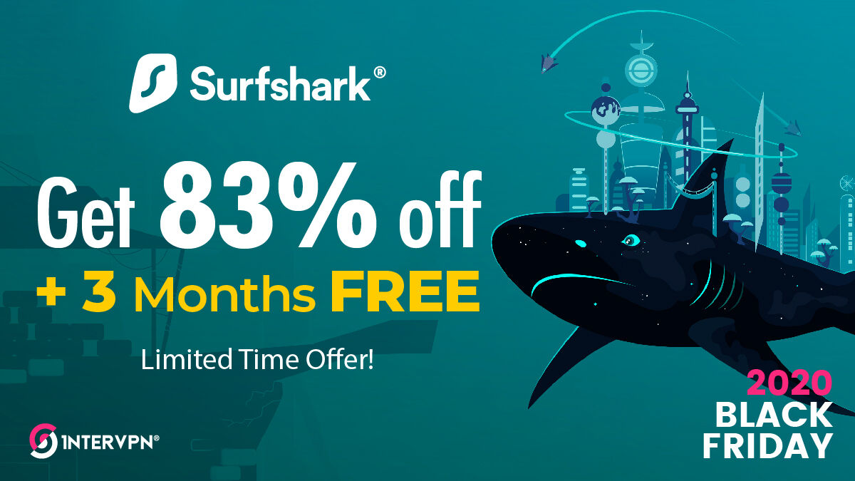 Surfshark coupon code - 3 months free