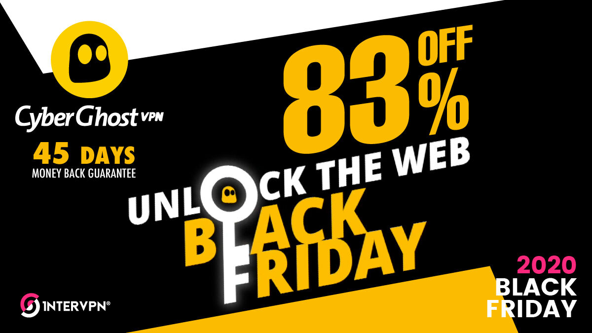 CyberGhost VPN Coupon Black Friday